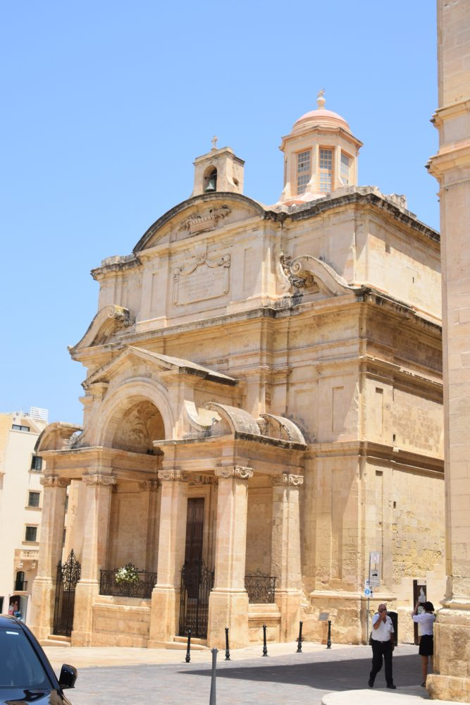 The church of St Catherine of Italy, Valletta