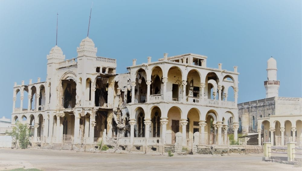 White Palace ruins at Massawa