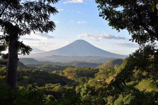 El Boqueron volcano El Salvador