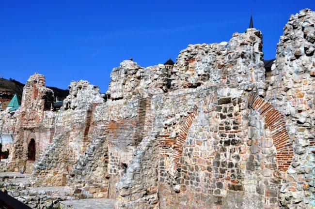 Taslihan, a ruined caravanserai in Sarajevo
