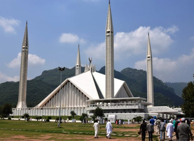 The Faisal Mosque, Islamabad, Pakistan