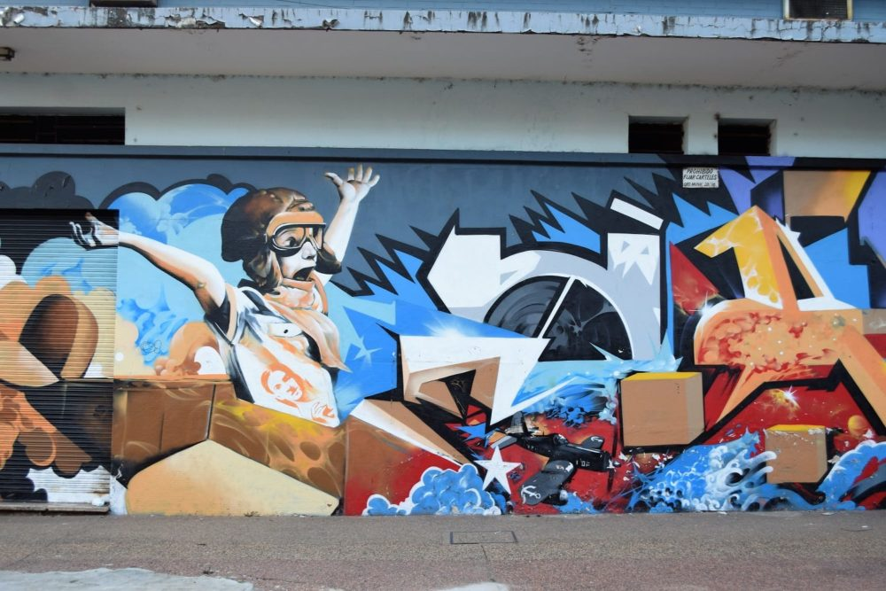 A mural in Asuncion Paraguay