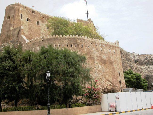 The citadel at Nizwa Fort Oman