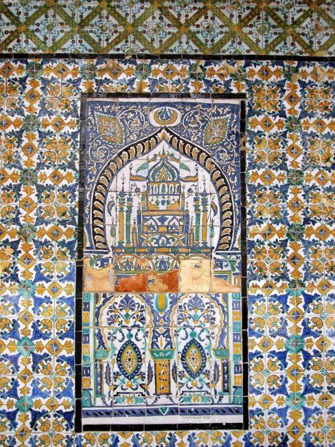 Islamic mosaic, Tripoli