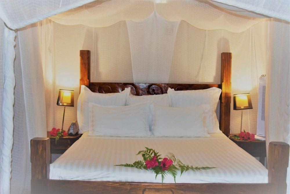 The Royal Bed at Tavanipupu