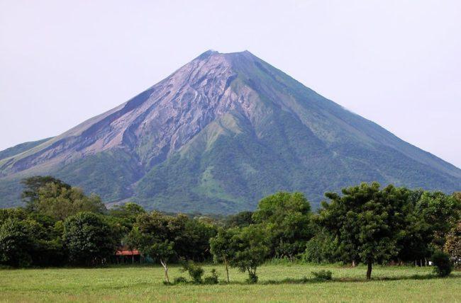 Volcano on Ometepe Island Nicaragua