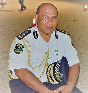 The police commissioner on Nauru