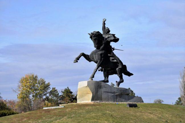 Monument to Suvorov Transnistria