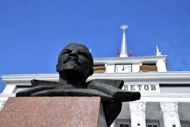Statue of Lenin in Tiraspol Transnistria