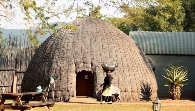 My hut accommodation at Mlilwane Camp