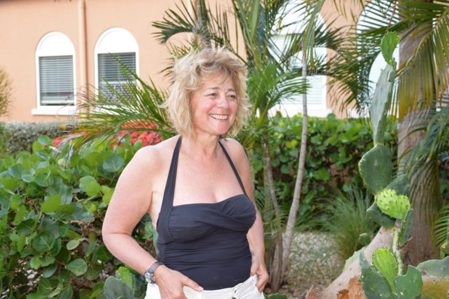Sue at the Divi Resort hotel