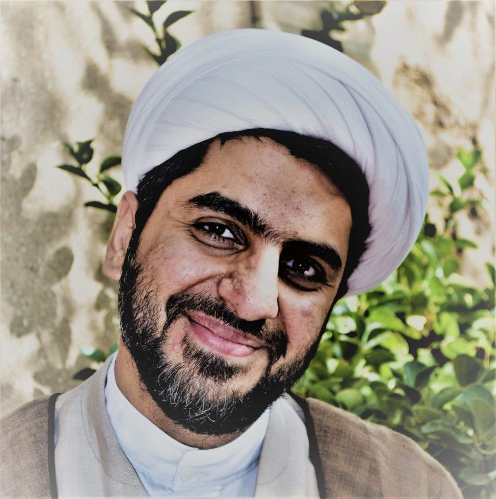 An Imam in Kashan, Iran