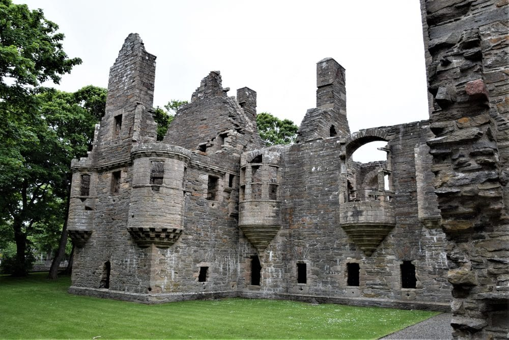 Ruins of the Earl's Palace, Kirkwall, Scotland