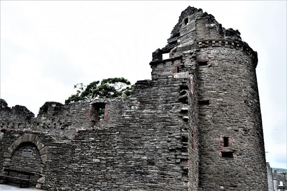 Ruins of the Bishop's Palace, Kirkwall, Scotland