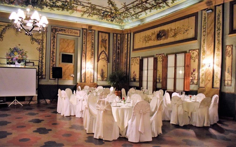 The Gran Hotel del Paraguay ball room