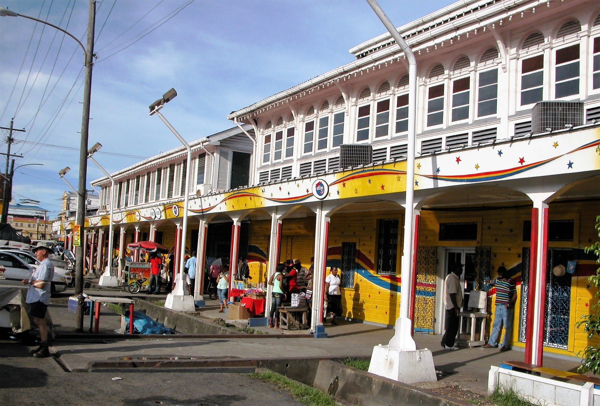 The entrance to Georgetown Market
