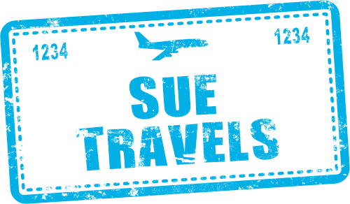 Sue Travels logo