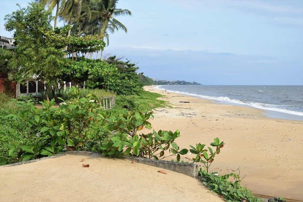 The beach at Libreville Gabon