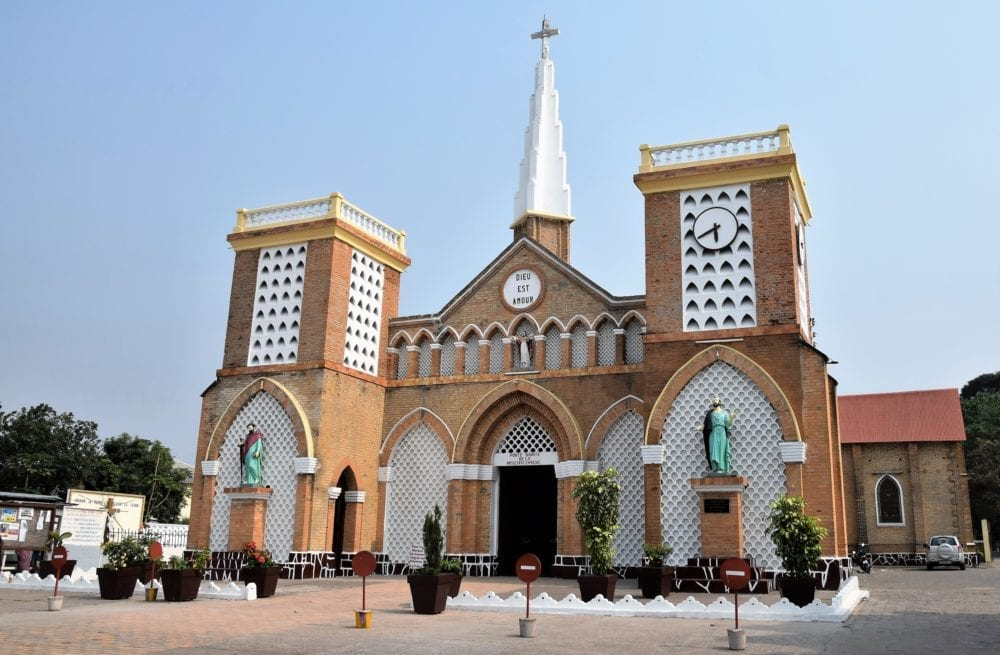 Brazzaville cathedral