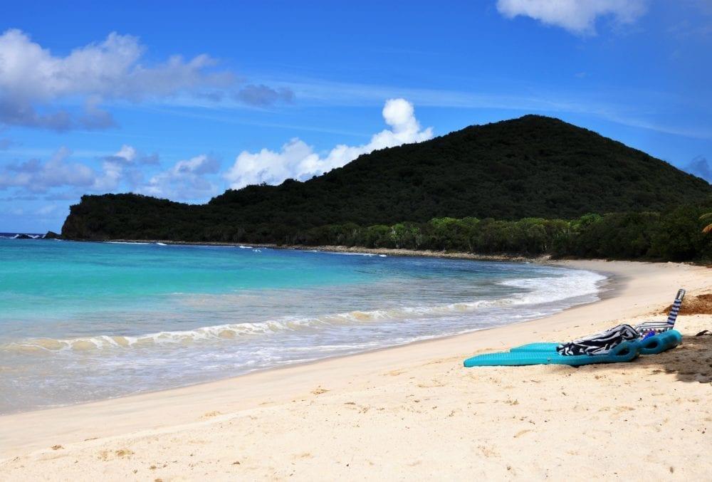 Smugglers Cove Beach on Tortola, British Virgin Islands