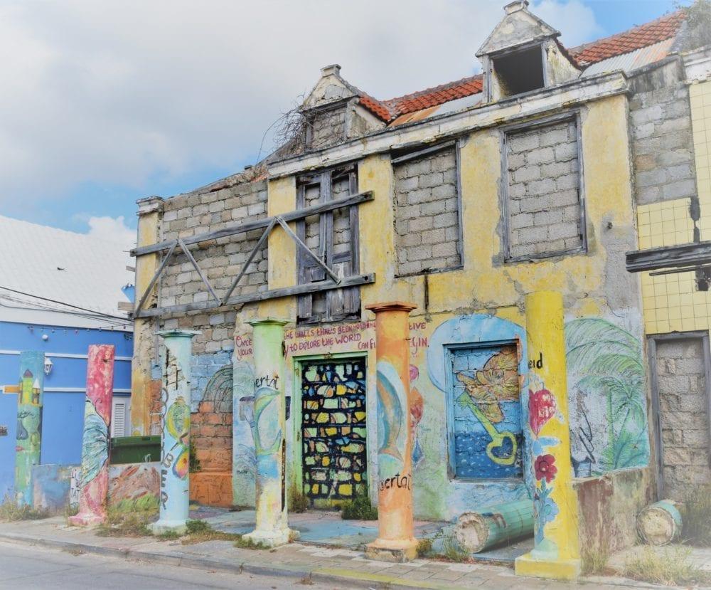 Murals in Pietermaai, Willemstad