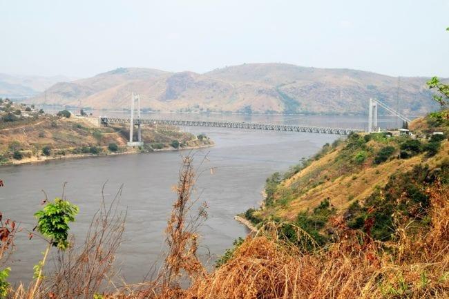 The bridge across the Congo River at Matadi