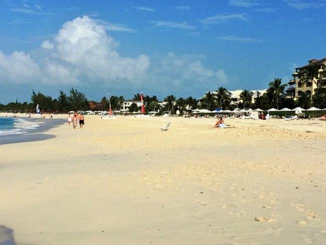 Grace Bay beach, Providenciales, Caicos