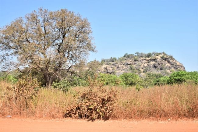 Fouta Djallon - a mountain ridge in Guinea