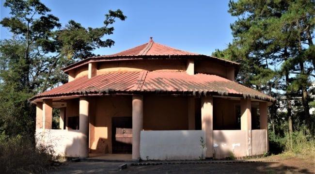 The historic circular Casa Apalable in Delaba Guinea