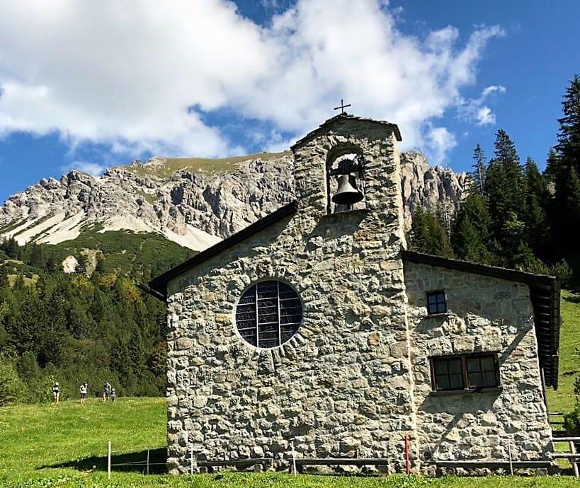 Chapel in Malbun, Liechtenstein