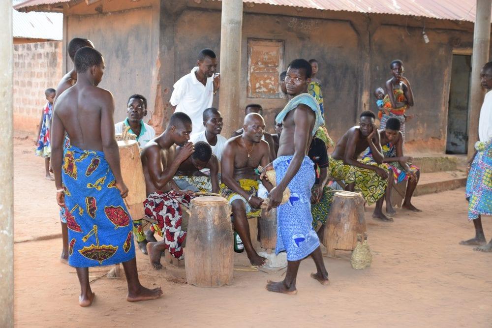 Voodoo musicians in Togo