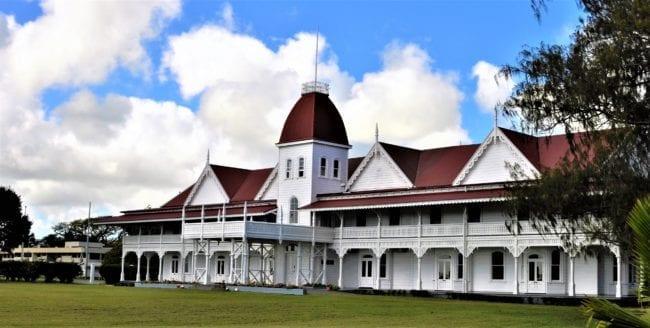 The Kings Palace in Nuku'alofa, Tonga