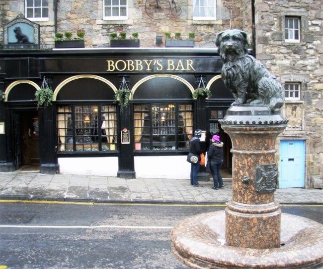 The Edinburgh statue of Greyfriar's Bobby