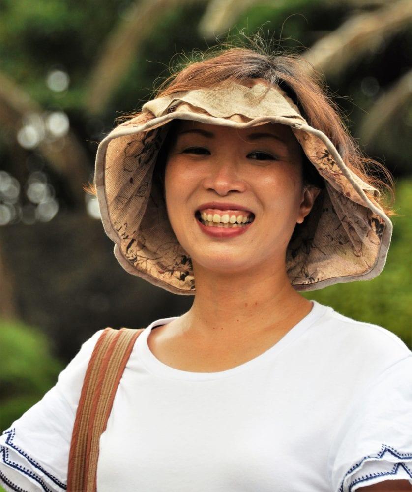 Portrait of Kim Mae