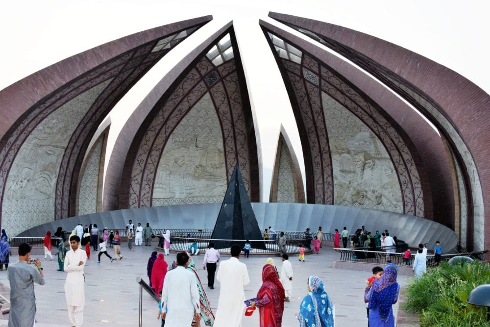 The National Unity Monument at Islamabad