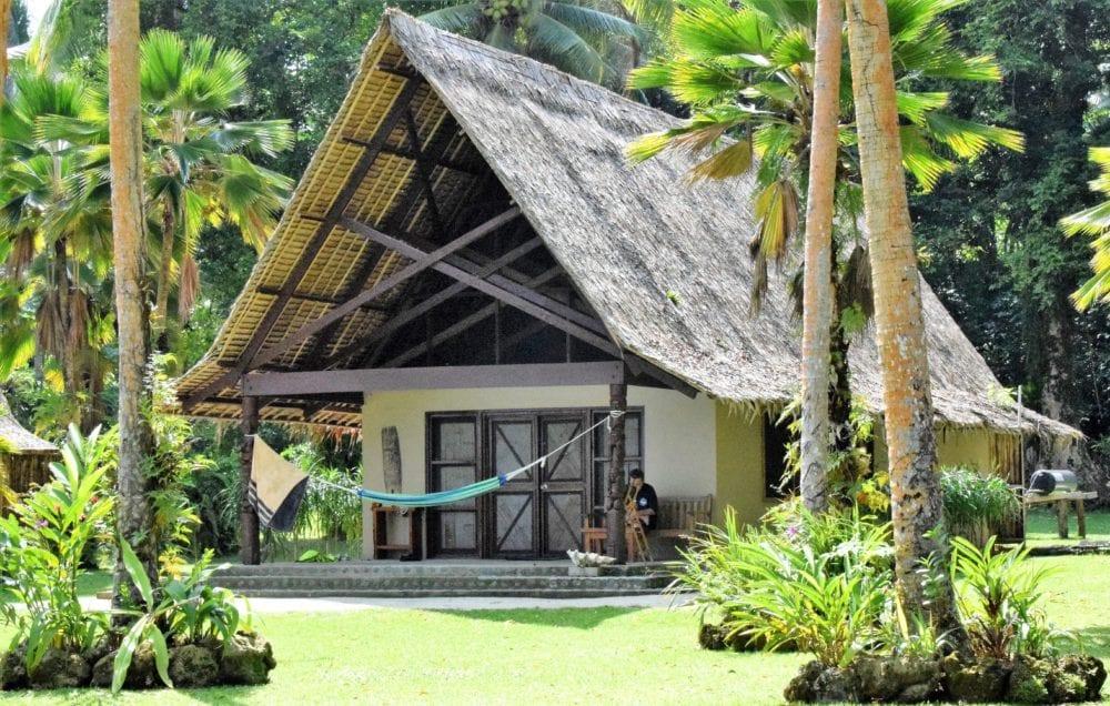One of the bungalows at Tavanipupu Solomon Islands