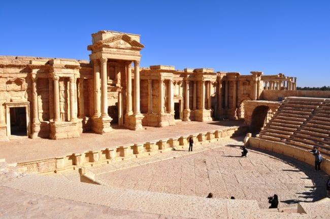 The theatre at Palmyra, Syria