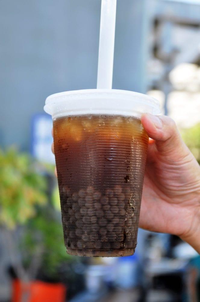 Mr Chao's syrupy drink Taiwan
