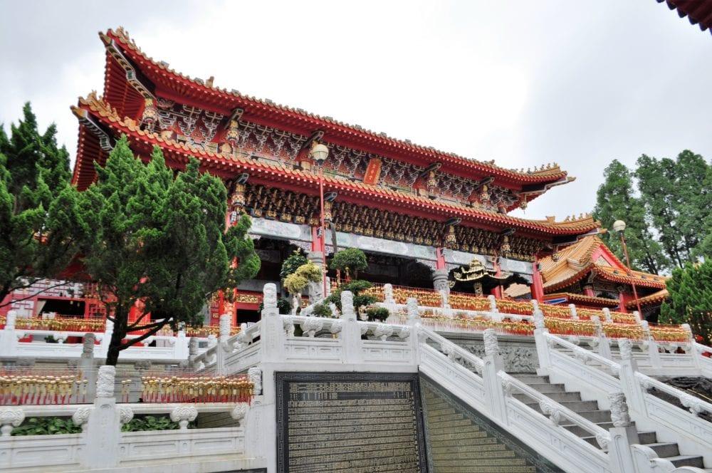 A Tao temple at Sun Moon Lake