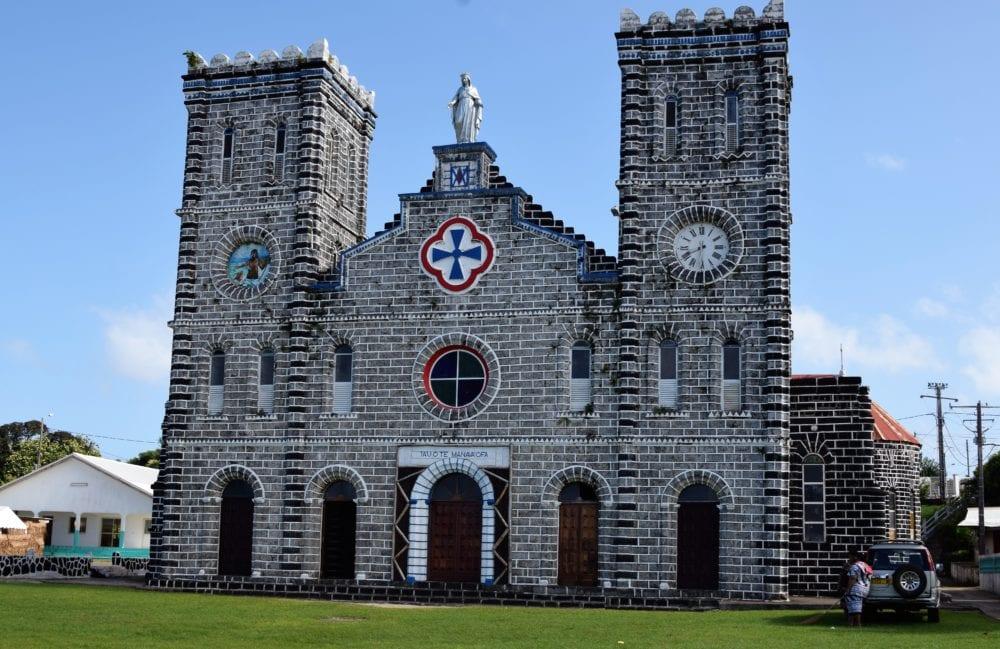 The cathedral at Matā'Utu, Wallis island