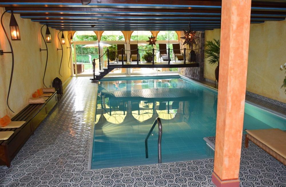 The hotel indoor swimming pool, Vaduz