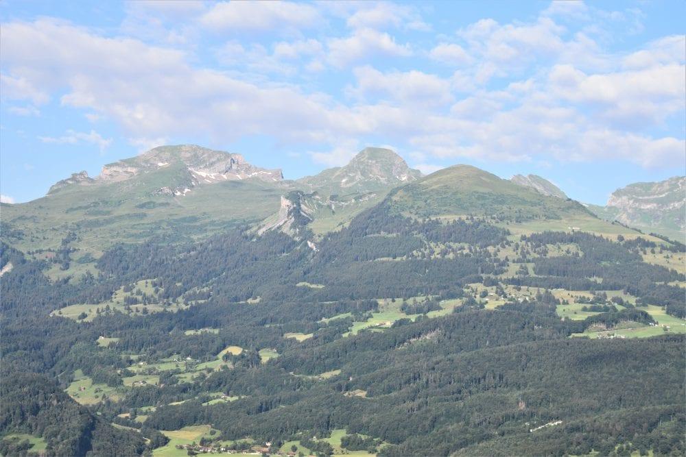 A view of the mountains, Liechtenstein