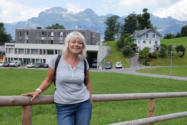 Sue at Triesenberg Liechtenstein