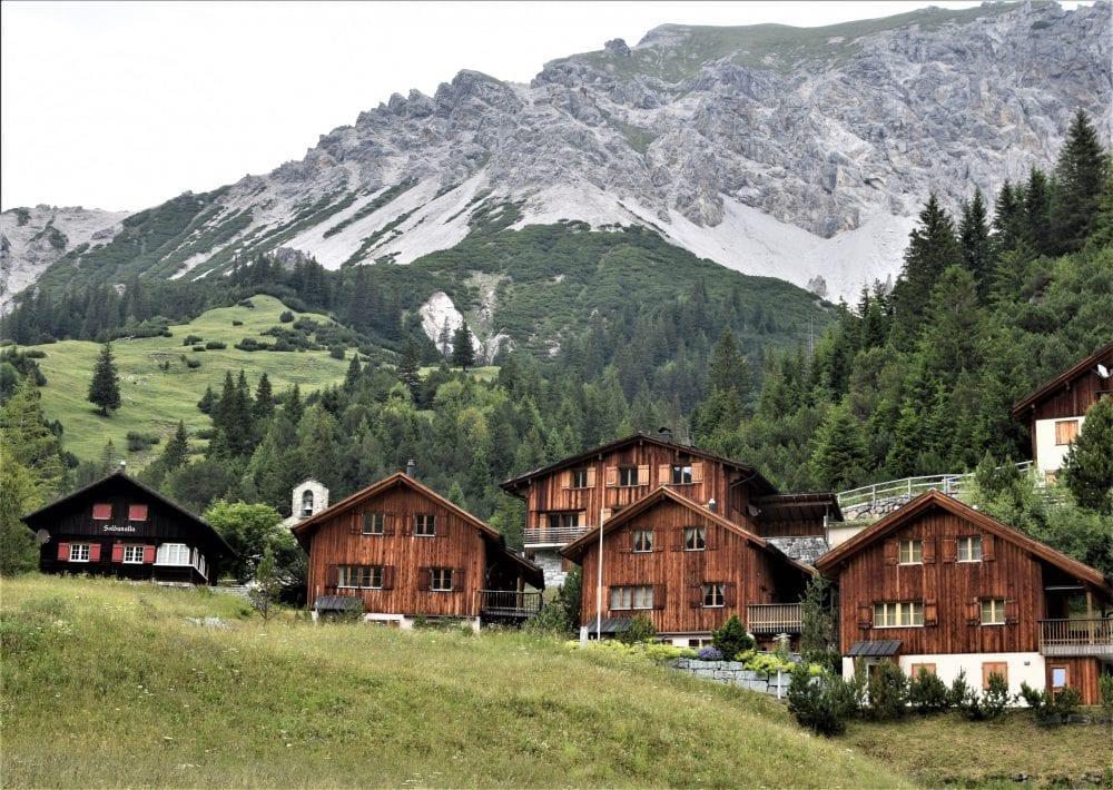 The village at Malbun Liechtenstein