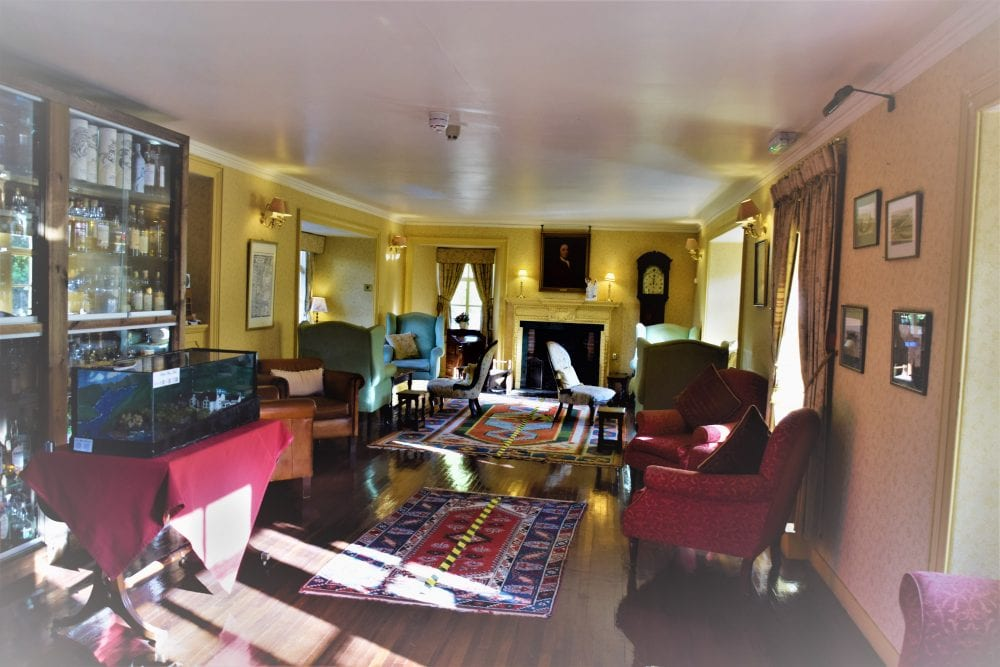 The Long Room at Busta House Country Hotel, Shetland