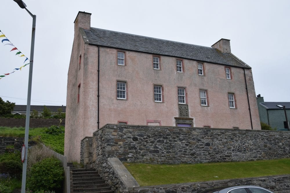 The Muckle Haa. laird's house at Scalloway