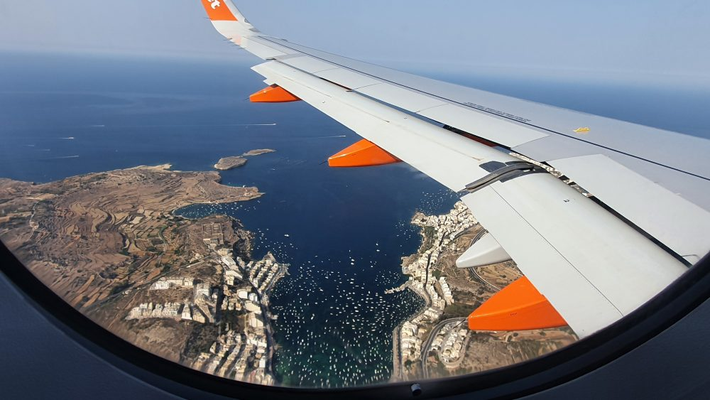 St Paul's Bay, Malta. seen from the air