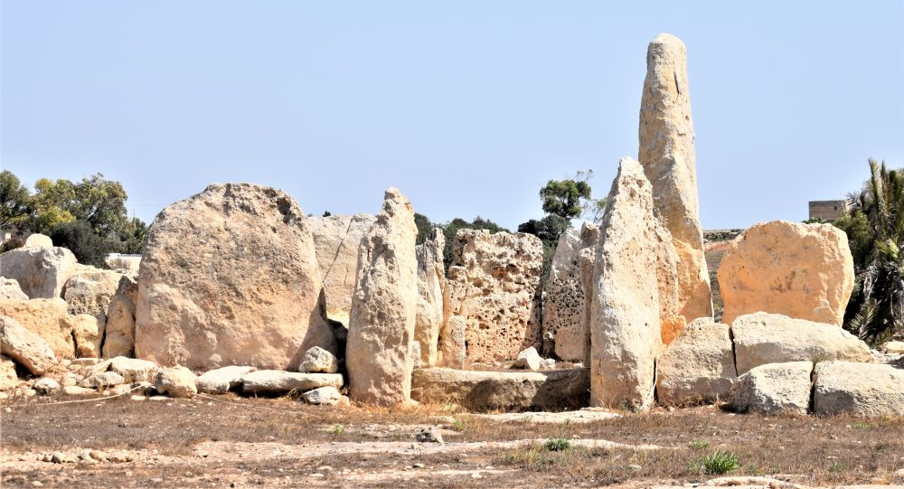 Neolithic stones at the Haq Quim temples