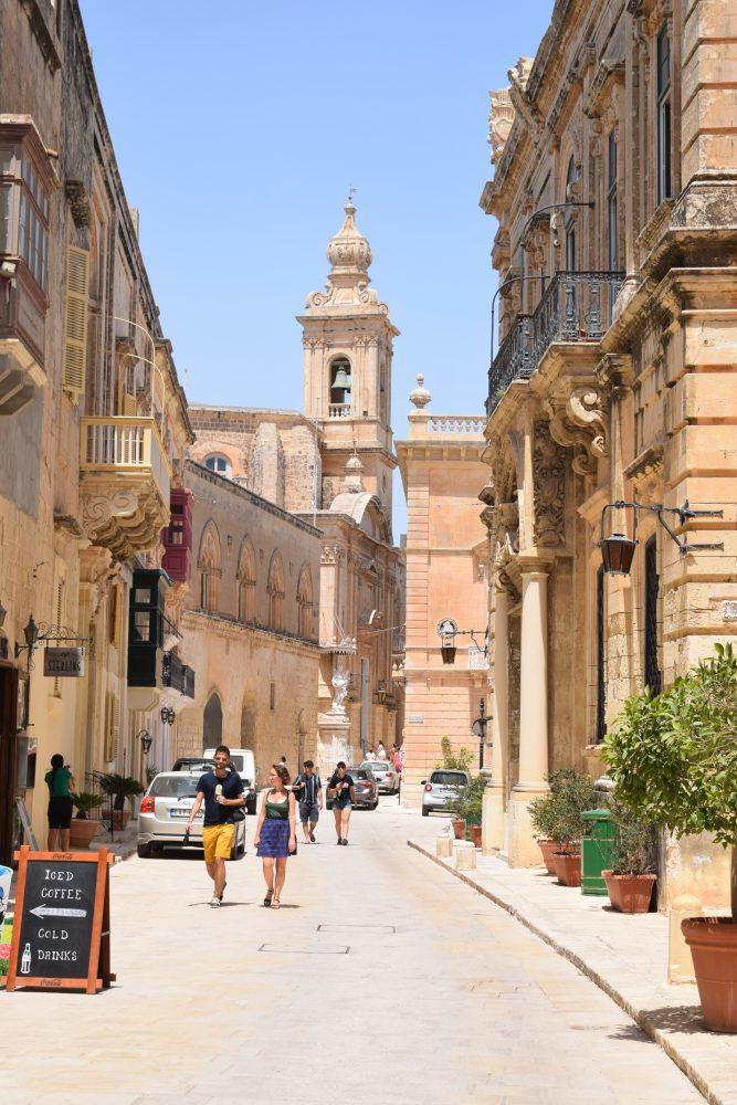 A street in Mdina, Malta