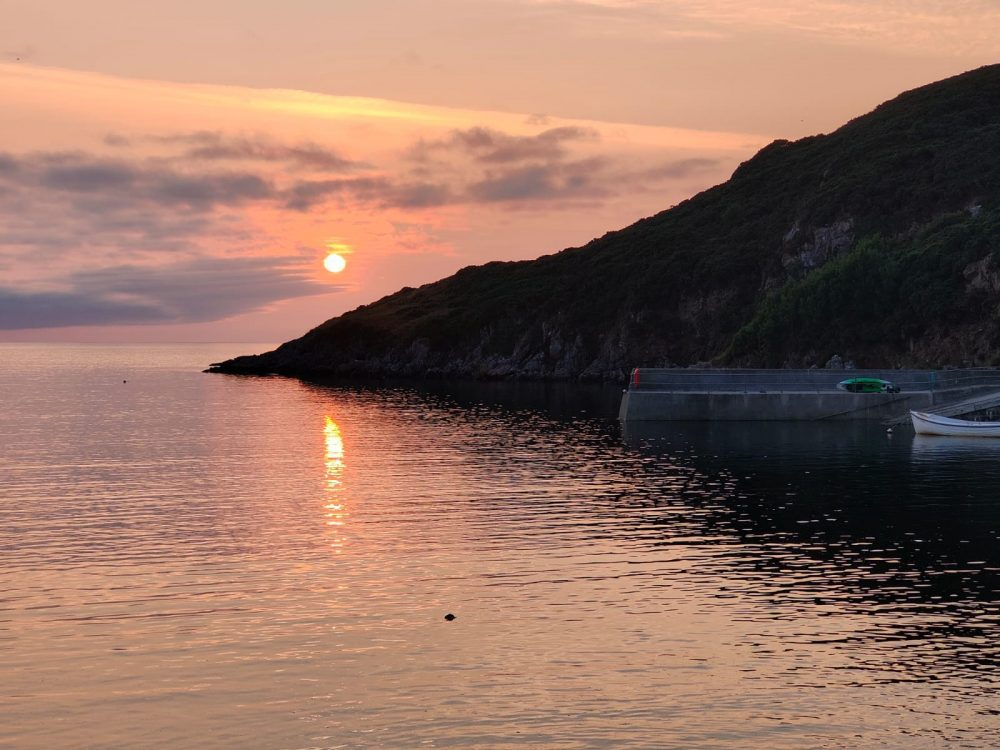 Scourie, Scotland - sunset over the water